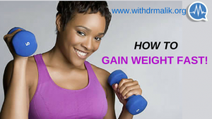 Read more about the article 5 SIMPLE AND HEALTHY WAYS TO GAIN WEIGHT FAST!