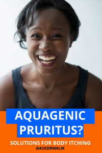 aquagenic pruritus treatment